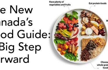 The New Canada's Food Guide – A Big Step Forward