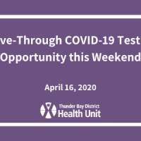 Drive-Through COVID-19 Testing Opportunity This Weekend