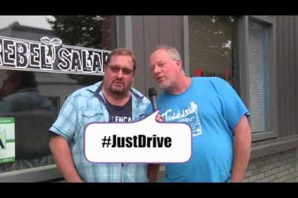 Embedded thumbnail for Just Drive. Your Friends will Understand